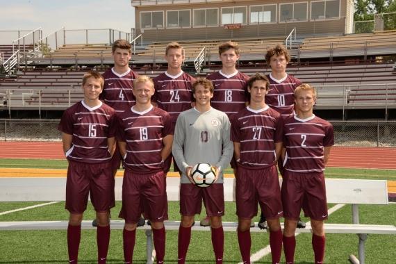 Boys soccer team seniors