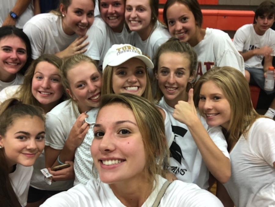 Turpin Spartan Varsity Cheerleaders