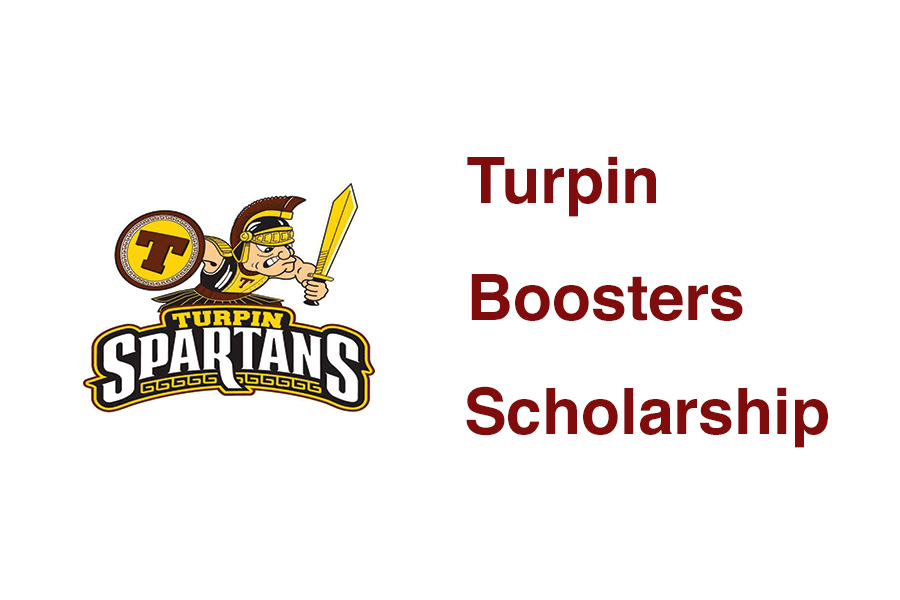 Turpin boosters scholarship graphic