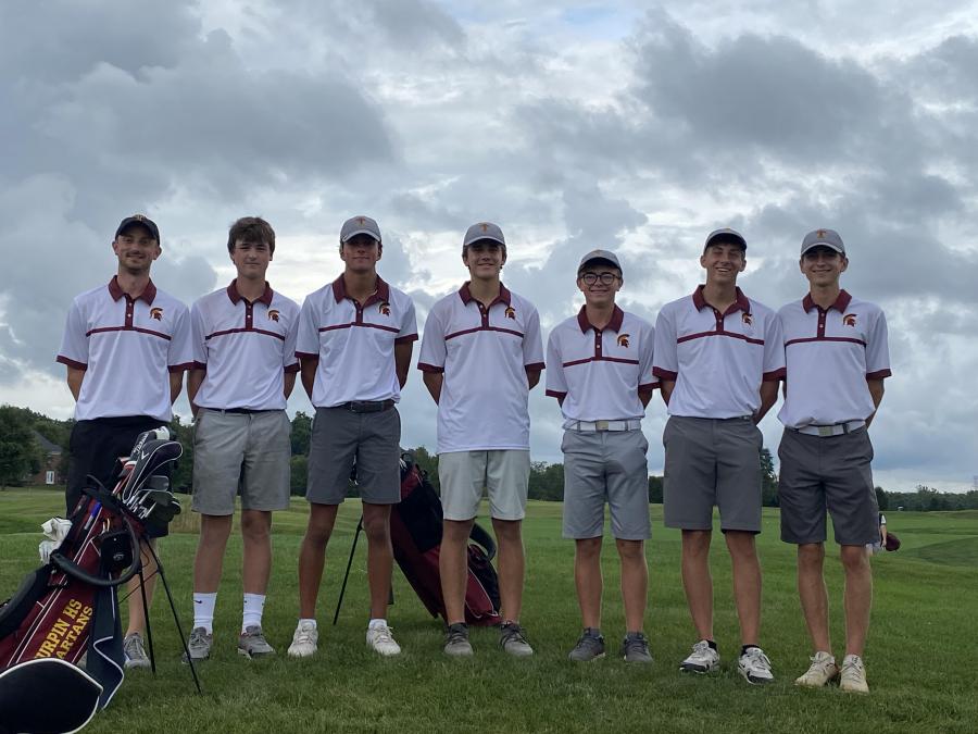Boys Golf Strong Start
