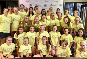 Girls Cross Country at the Downs Syndrome Association