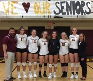 Turpin volleyball seniors