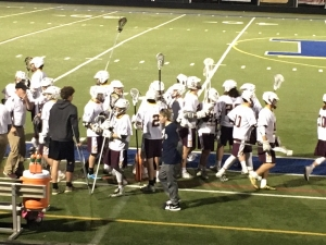 The JV and Varsity Spartans Lacrosse