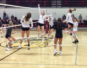 Turpin volleyball team