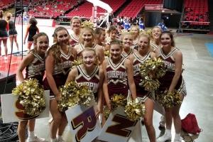 Turpin cheerleaders