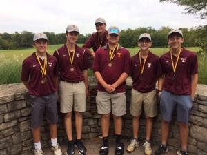 Turpin boys golf team